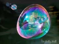 Whirling bubble