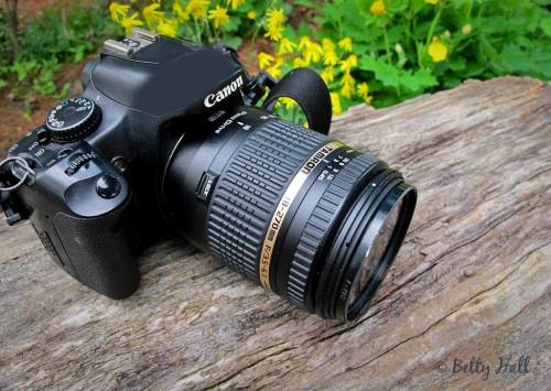 Canon Rebel XSi camera