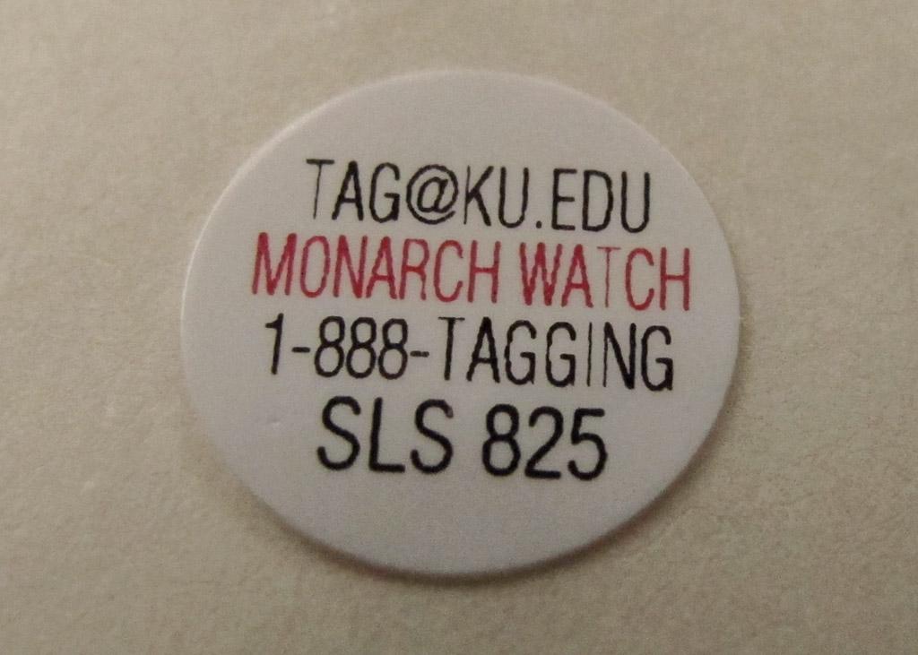 monarch tag